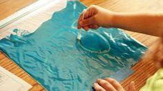 come realizzare una lavagnetta colorata economica e divertente per imparare lettere e numeri