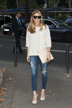 Olivia Palermo - Paris fashion week