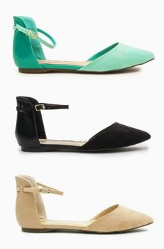 So cute! Perfect flats for lots of outfits.