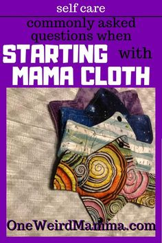 Building a stash of Mama Cloth, or Cloth Pads for Menstruation has been a fun and colourful journey. But before I started I had a bunch of questions, most of which are commonly asked by begginers when starting with cloth pads. Here are my findings. Wellness Tips, Health And Wellness, Mental Health, Health Talk, Women's Health, Healthy Habbits, Mama Cloth, Happy Mom, Happy Kids