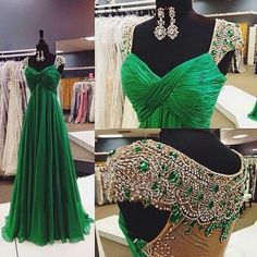 Green prom Dress,Charming Prom Dresses,2016 prom Dress,A-line prom dre – Princesssbride