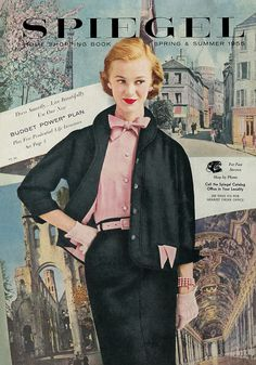 1955 Spiegel Catalog Cover