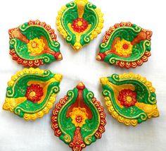 Diwali Diya Indian Clay Diya Terracotta Diya by IndiaTradition