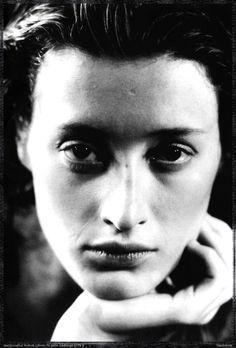 Peter LINDBERGH :: Marie-Sophie Wilson for Comme des Garcons, Paris, 1987