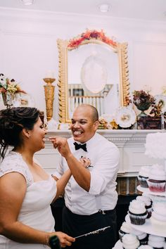 Esmeralda and Armando's 40 Guest Wedding at historic Mackey House. The Allens Photography. See more here... @intimateweddings.com #realweddings #smallweddings