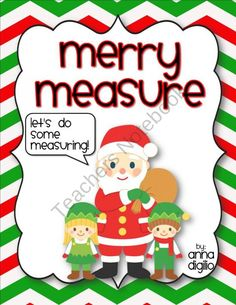 FREE Merry Measure - Holiday Measurement Unit product from SimplySkilledinSecond on TeachersNotebook.com