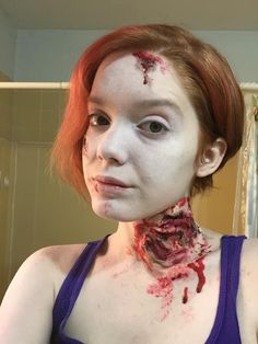 1950's Zombie Housewife Makeup Test - Album on Imgur