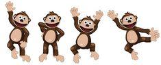 Imágenes del Mono Bubba. | Ideas y material gratis para fiestas y celebraciones Oh My Fiesta! Oh My Fiesta, Blogger Templates, Mickey Mouse, Disney Characters, Fictional Characters, Clip Art, Ideas, Google, Molde