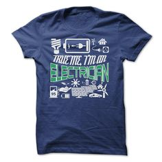 TRUE ME I ✅ AM AN ELECTRICIANYour shirt is screen printed on high quality material! ==> Dont delay! Please Order it now!ELECTRICIAN, JOB, JOBS, TRUE ME I AM AN ELECTRICIAN, TRUE ME, ELECTRICIANS
