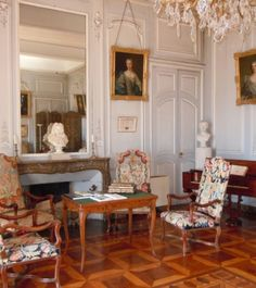 Le salon de Musique - château du Touvet (Isère)