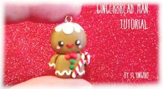 Christmas Gingerbread Polymer Clay Tutorial