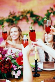 Friendship & Florals: A Backyard Celebration - Style Me Pretty Living