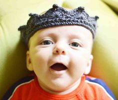 Lil Prince Crocheted Crown ~ Free Pattern
