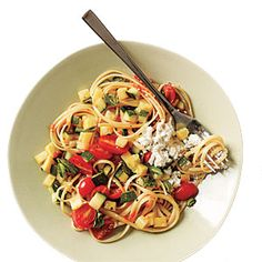 Linguine with Quick Lemon Ricotta - Budget Meals: Feed 4 for $10 - Cooking Light