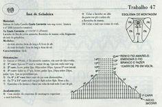 Cubrepañal souvenir diagrama