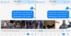 Facebook has confirmed in a statement made available to TechCrunch that it would soon start testing GIF button for comments. The GIF button for comments is