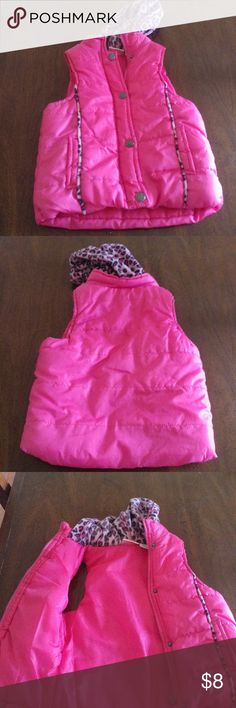 Vest I have a girls hot pink vest size 5/6 Pink Platinum Jackets & Coats Vests