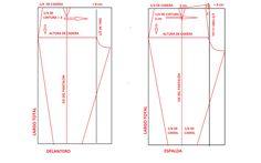 Patrón básico del pantalón | Manualidades