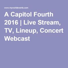 july 4th tv concerts