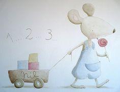 ratolí a la paret