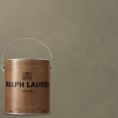 8966c25c70e Ralph Lauren 1-gal. Plaza Green Suede Specialty Finish Interior Paint-SU115  - The Home Depot
