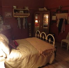 Another angle of Amy's bedroom