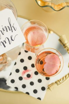 Cardamon Rose cocktail: http://www.stylemepretty.com/living/2015/01/30/love-drunk-valentines-day-inspiration/ | Photography: Krista A Jones - http://kristaajones.com/