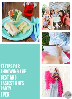 11 Tips for throwing great kids birthday parties