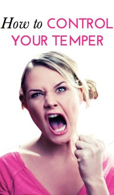Awesome expert tips to help you get your temper and anger issues under control (great advice too if it's your friend or partner with the temper issues!).