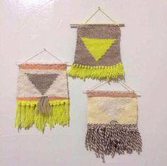 Minna - Triangle weavings