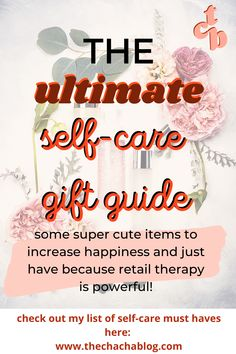 Self care products and fun gift ideas for yourself because retail therapy is real! Self care, self care checklist, self love, self care products, self care ideas, retail therapy, gift ideas, self care must haves, self love gift guide, ways to love yourself, treat yourself, gift guide for all things cozy, fun products, how to be happier Mental And Emotional Health, Mental Health Matters, Mental Health Awareness, Single Mom Blogs, How To Handle Anxiety, Inspirational Blogs, Dealing With Depression, Feeling Depressed, Anxiety Tips