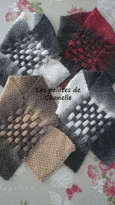 c546d6633afb 52 meilleures images du tableau echarpes   Knitting patterns ...