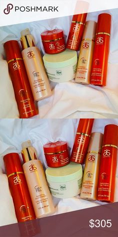 Arbonne Anti-Aging Face (regular) Bundle Arbonne delivers a product combination with clinically tested results that targets signs of aging such as fine lines and wrinkles, loss of firmness, and moisturization. Its conveniently bundled with Arbonne intelligence Genius Resurfacing Pads & Solution to supercharge your skincare regimen. Arbonne Other