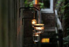 DIY Mason Jar Wedding Lights