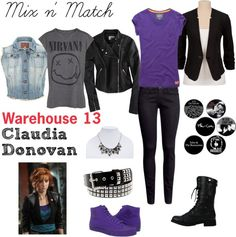 Claudia Donovan from Warehouse 13 Inspired Outfits
