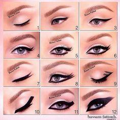 Como puedes delinear tus ojos