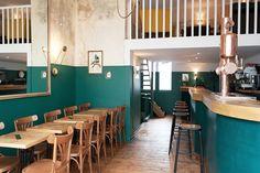 Le Narcisse bar by Rodéo Basilic, Nantes – France » Retail Design Blog