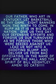 Kentucky Prayer