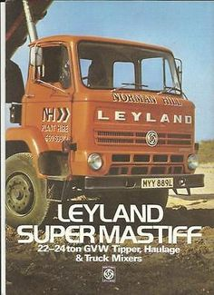 British Leyland Bmc Boxer Truck Lorry Sales Brochure Late S