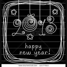 happy new year chalk art - Google Search