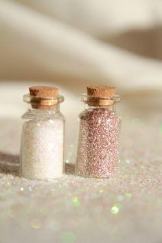 Bottles of #glitters