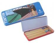 Price $12.34 Tintin amp; Snowy Metal Pencil Box With 8 Pencil. To Usa Is $ 7.95 Usd Sent Air Mail Insurance Included  Delay 5 To 7 Business Days Appro...