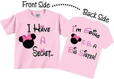 I'm Going To be A Big Sister Shirts Cute Butterfly Tees Second Baby, 2nd Baby, Baby Kids, Baby Boy, Disney Pregnancy Announcement, Big Sister Announcement, Pregnancy Announcements, Disney Maternity, Sibling Shirts
