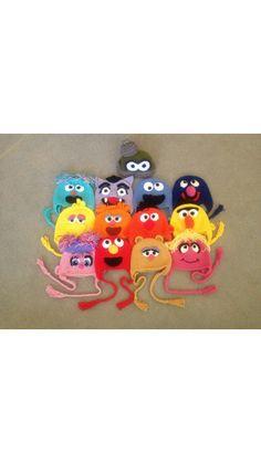 Crochet Muppets & Sesame Street Beanie Hat - Picture Idea