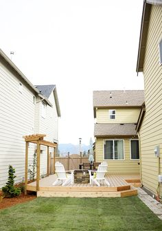 Backyard deck inspiration