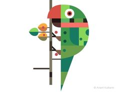 Geometric animals - Photo 1 | Image courtesy of Anant Kulkarni    http://www.themag.it/inspiration/2012/geometric-animals.html