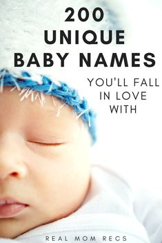 The ultimate list of unique baby names that are uncommon, but not weird! Find the perfect name for your baby that is rare but NOT made up. Boys, girls, and unisex names with their meanings.