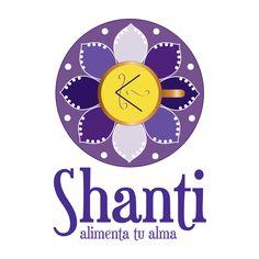 Marca para Café Shanti - Dirección Gráfica en Ayudantegrafico