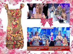 Flores y leopardo para Terelu Campos  http://www.barbarella.es/tiendabarbarella/