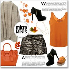 A fashion look from September 2015 by kellylynne68 featuring Tome, Rebecca Minkoff, Isabel Marant, MICHAEL Michael Kors, Roger Vivier, Vera Bradley, Fall and mi...